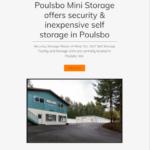 Poulsbo Ministorage
